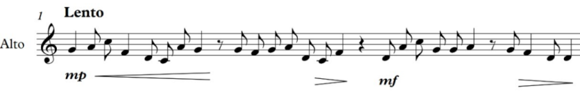 initial melody